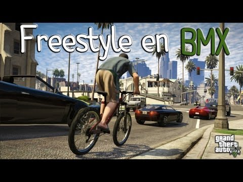 GTA V | Freestyle En BMX !