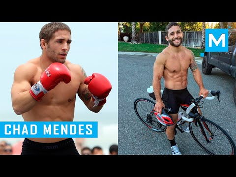Chad Mendes Conditioning Traning Workouts | Muscle Madness