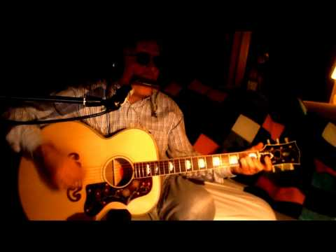 I Shall Be Released Bob Dylan The Band Acoustic Cover w/ Bluesharp