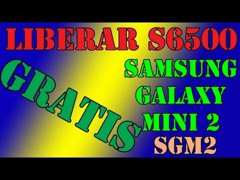 Como liberar gratis el Samsung Galaxy Mini 2 (SGM2) (S6500)