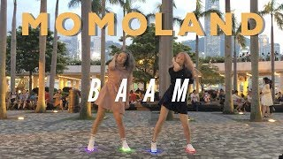 "[KPOP IN PUBLIC] MOMOLAND(모모랜드) - ""BAAM"" DANCE COVER w/ gii & BLING BLING SHOES"