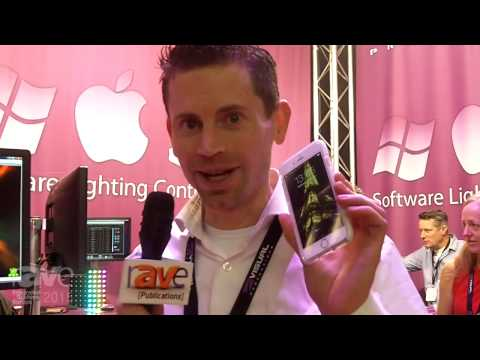 ISE 2015: Visual Productions Shows Us Cuety iPad Control for Lighting Control