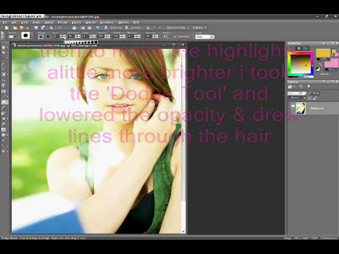 Corel Paint Shop Pro Photo x2 - Retouch Tutorial #2