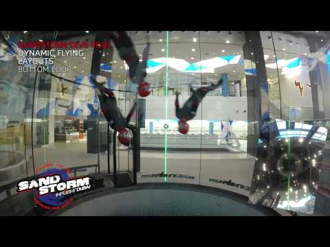 Inflight Dubai SandStorm - Dynamic flying dive pool - Layouts