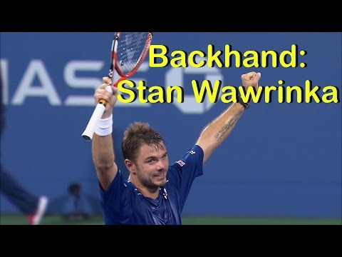 Backhand: Stan Wawrinka