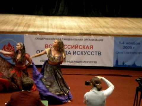 """Цыганский танец """"Ночь в таборе"""". Gipsy dance"""