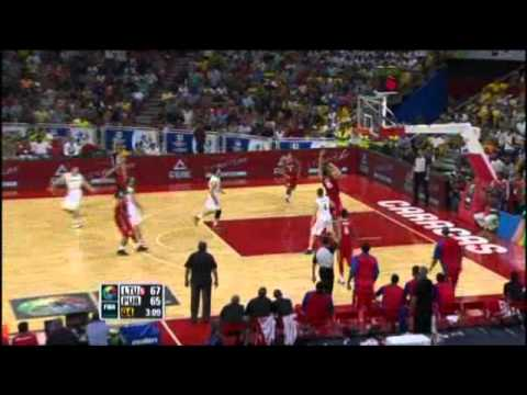 Lithuania Vs. Puerto Rico / 2012 FIBA Olympic Qualifying Tournament: Quarter-Final