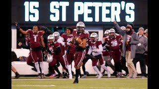 St. Peter's Prep blocks field goal to seal the victory over Don Bosco Prep in NJSIAA Non-Pub 4 final