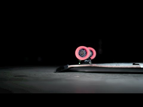 Longboarding: Funky Lights