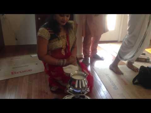 Karan Mamatha & Krithik - New Home puja
