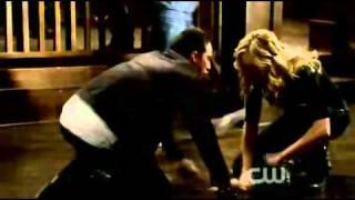 Tyler & Caroline 2x14 [Crying Wolf]Scene