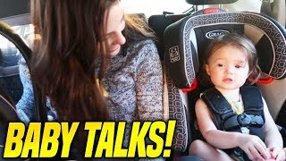 BABY BELLA IS STARTING TO TALK!! *CUTE*