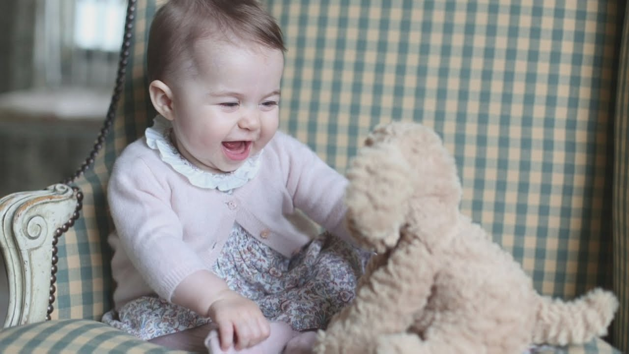 Princess Charlotte photographed at six months