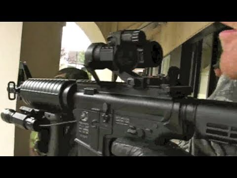 Airsoft War CQB Mall War P90. M4 AK47 Scotland