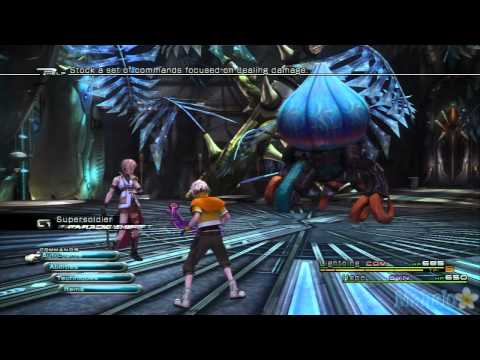 Final Fantasy XIII Walkthrough - Chapter 5 - Part 10 - Aster Protoflorian Boss - Lightning