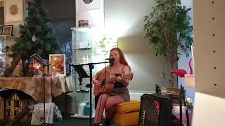Anita performing Bíum Bíum Bambaló a Lullaby - author unknown.