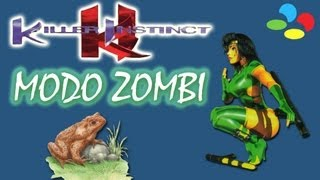 Killer Instinct (SNES) - Modo Zombi (Glitch)