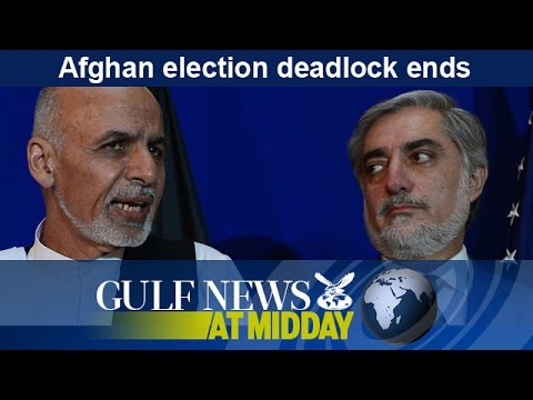 Afghan presidential election deadlock ends - GN Midday