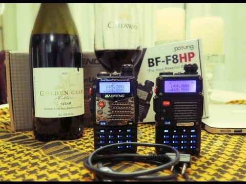 How To Program the BaoFeng UV-5R or BF-F8HP in CHIRP for Repeater and Scanner use
