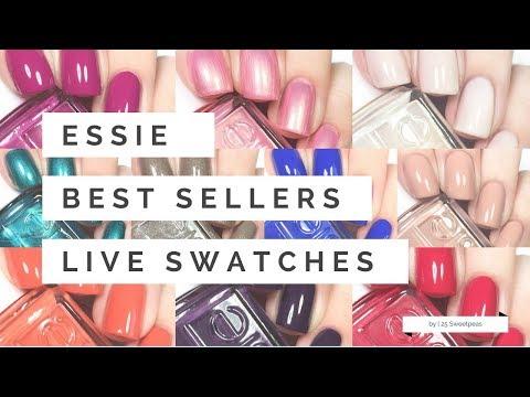 Essie Best Sellers | Live Swatches