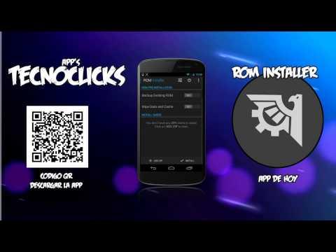 Rom Installer | Instala tu ROM favorita de una manera facil y rapida