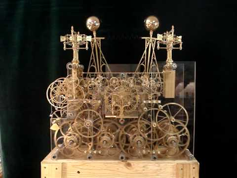 Astronomical skeleton clock progress as of 09-14-09