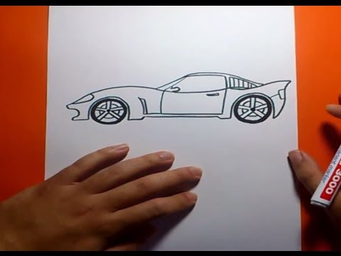 Como dibujar un coche paso a paso | How to draw a car