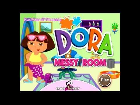 Dora Room Clean Up Games