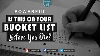 Is this on your Bucket List Before You Die? – POWERFUL