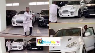 Check out the car Funny Face Chose After Adebayor Gave Him Options