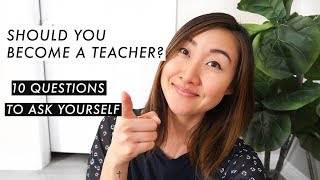 10 Signs That You Should Become a Teacher | Questions to Ask📝