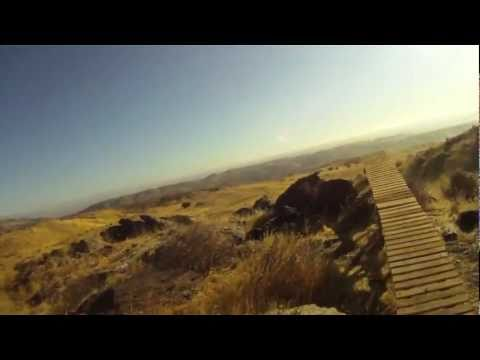Mountain Bike Crash - Ruptured Spleen! Go Pro HD