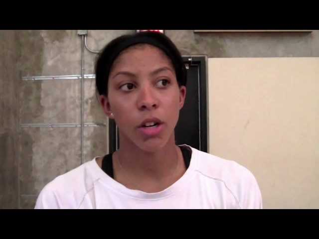 Candace Parker returns to USA with Gold Medal