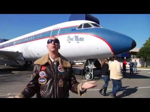 Julien's Auctions Offers Elvis Presley's Lisa Marie Airplane For Auction video