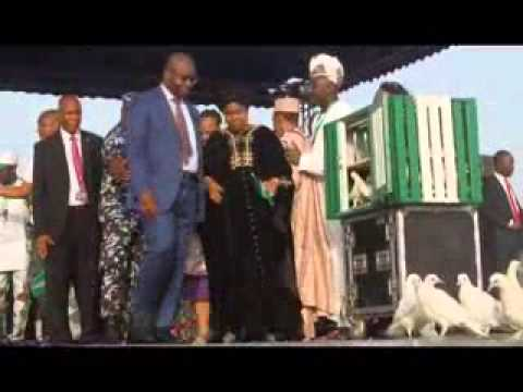 National Youth Peace Concert: Lady Onyeka Onwenus rendition...