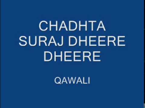 Chadhta Suraj Dheere Dheere X264 video