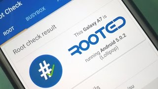 How to Root Samsung Galaxy A8, A7, A5 Running Android 5.0.2 (Lollipop) No Computer Needed