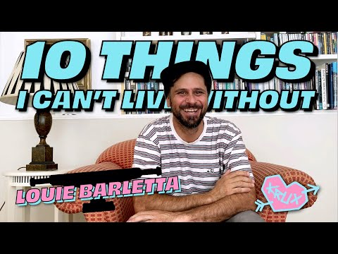 10 Things Louie Barletta Can't Live Without | Krux Trucks