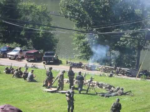 Battle of Remagen Bridge Reenactment - August 7, 2010 - The Final Battle