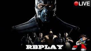 🔴Mortal Kombat X Briga com os mestre da PSN