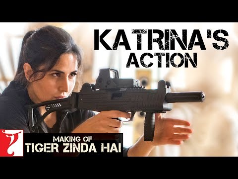 Making of Katrina's Action | Tiger Zinda Hai | In Cinemas Now