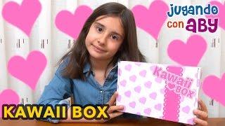 KAWAII BOX, unboxing y SORTEO en español. Kawaii Box febrero 2017. (SORTEO CERRADO)