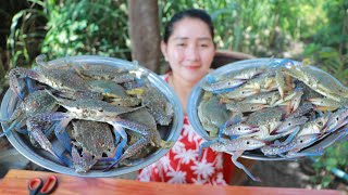 Cooking Blue Crab Stir Fried Special Recipe - Cooking With Sros
