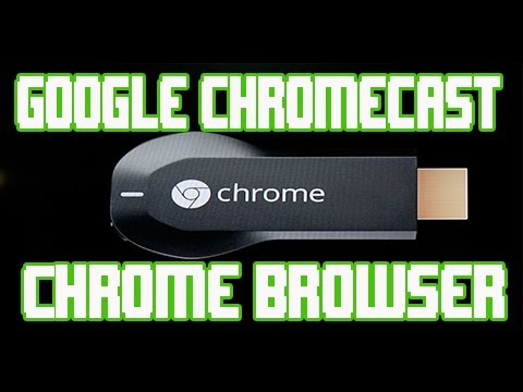 Google ChromeCast Chrome Web Browser Streaming and PC/ Laptop Setup and Use
