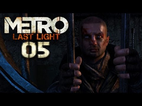 METRO: LAST LIGHT [HD+] #005 - Flucht, Freunde und Faschisten ★ Let's Play Metro: Last Light