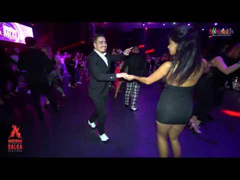 NELSON MARTINEZ & MONIQUE SOCIAL SALSA | AISF 2019