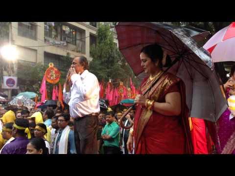 Aniruddha Bapu - Lord Ganesha Punarmilap Procession 2014 (Clip 41)