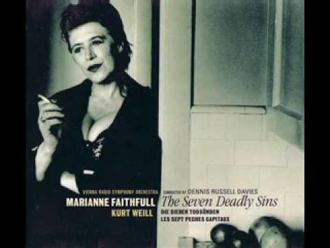Marianne Faithfull - Pirate Jenny