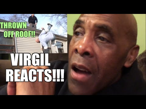 VIRGIL REACTS TO INSANE BACKYARD WRESTLING TABLE MATCHES!