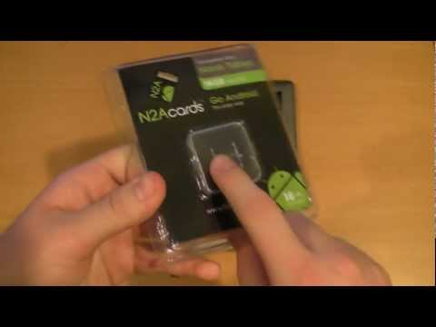 Review - The N2A Card! Turn your Nook into a Real Android Tablet!